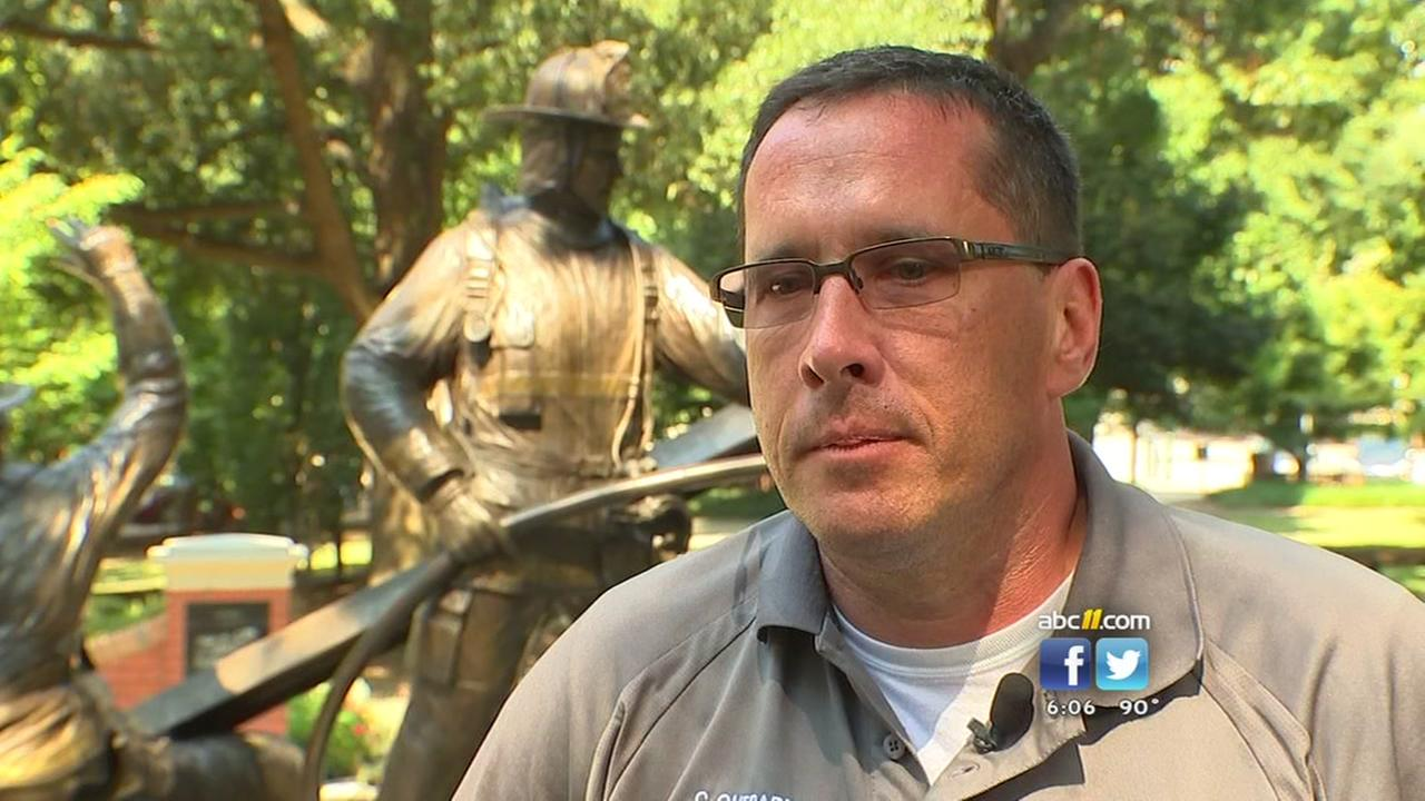 Local first responder recalls firsthand experience on 9/11