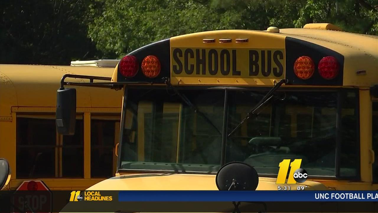 Wake County resident reports crowded school bus