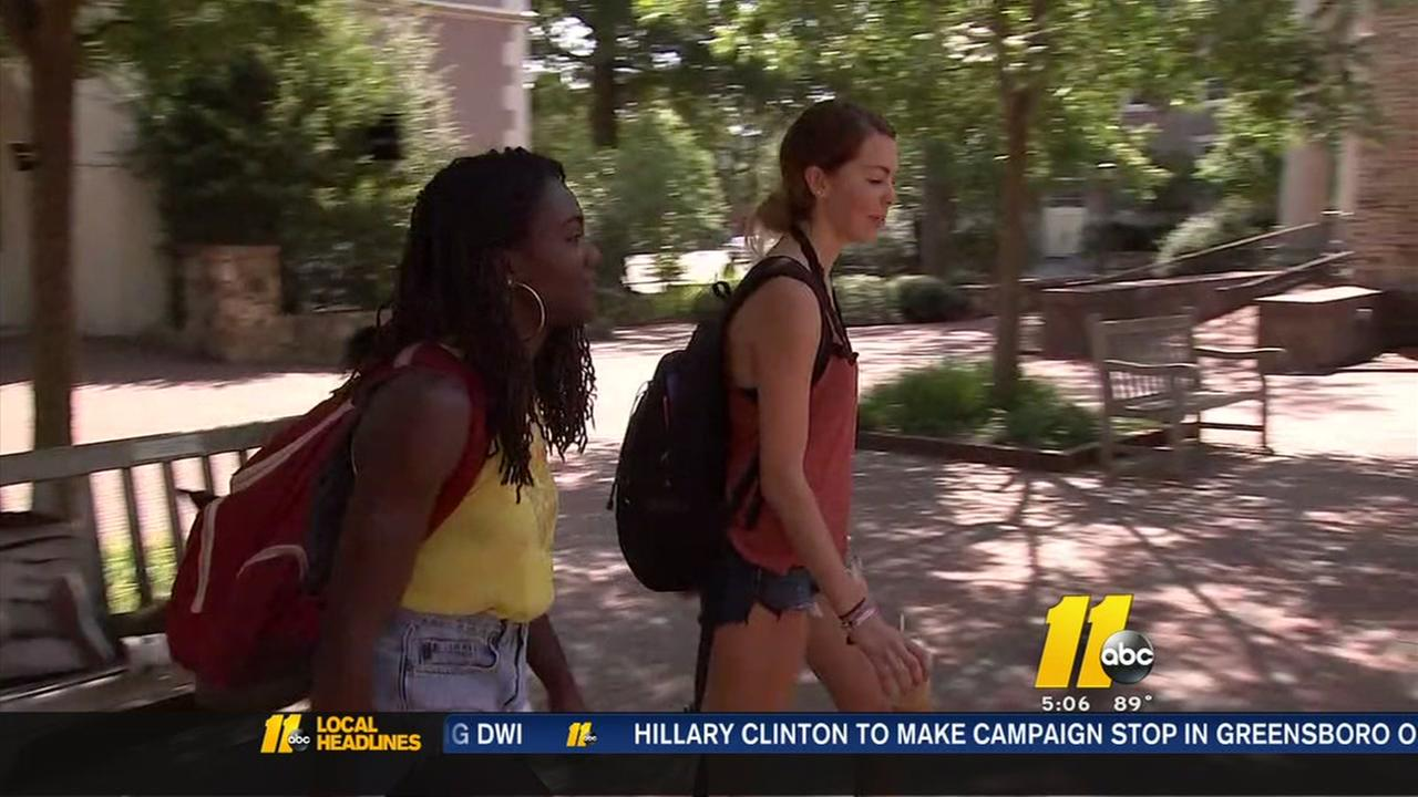 Rape allegation is the talk of UNC Chapel Hill campus