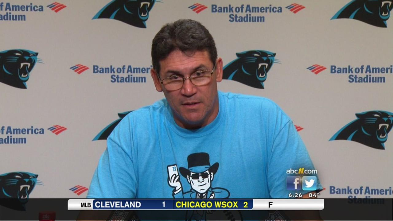 Panthers coach Ron Rivera on sports and politics