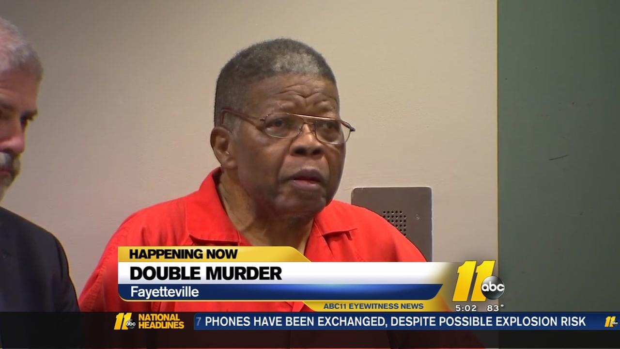 Double murder suspect appears in court