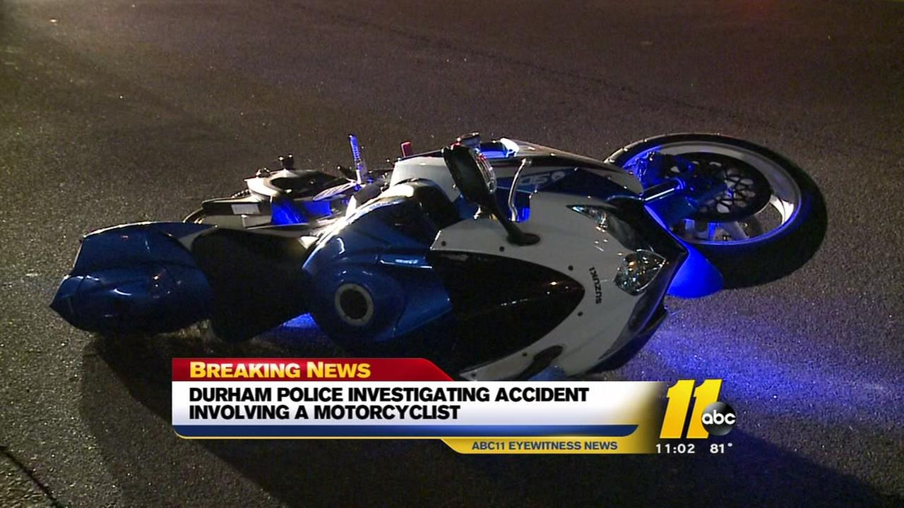 Durham Police investigate motorcycle accident