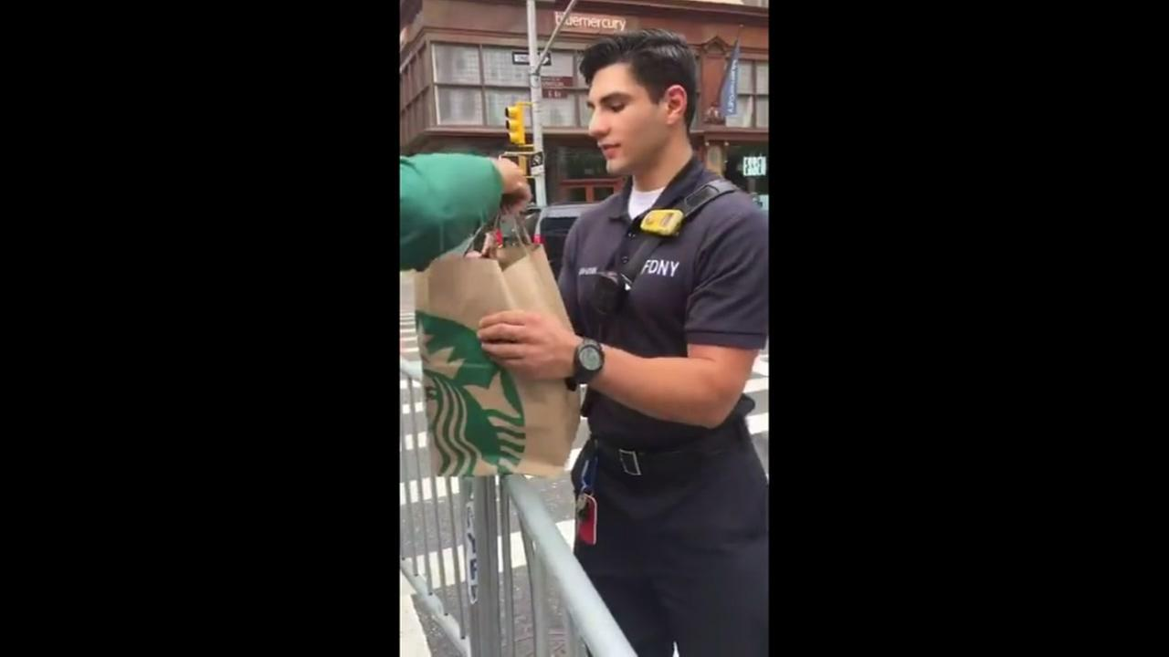NYPD Free Coffee