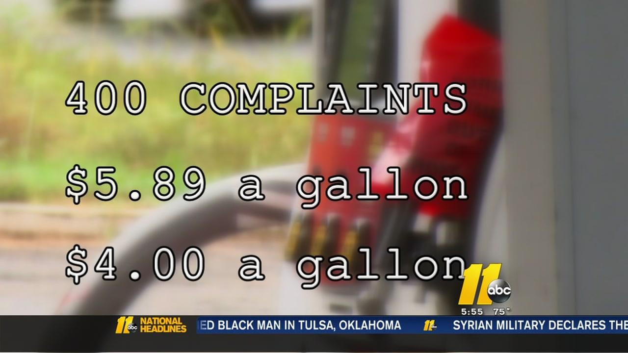 Over 400 price gouging complaints filed