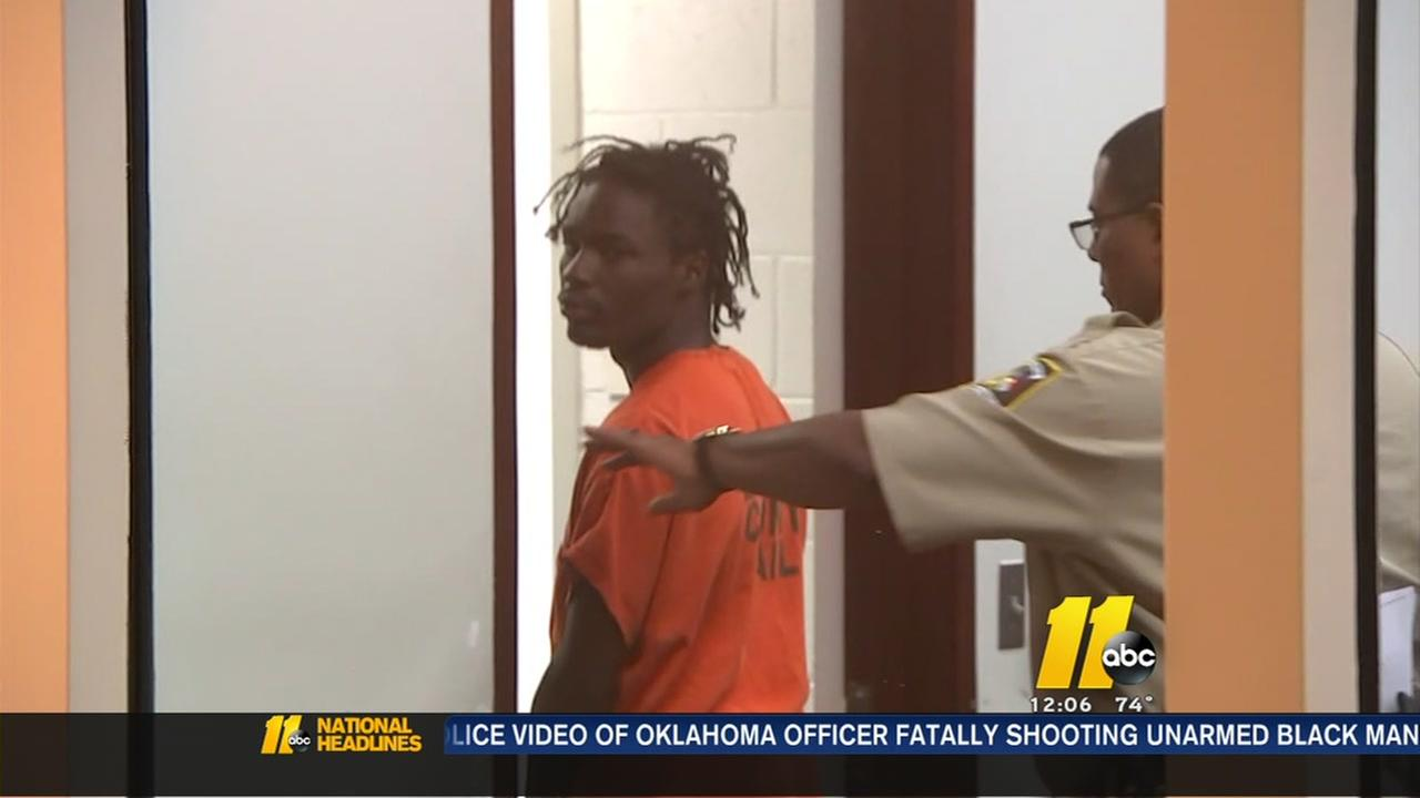 Man charged with murder appears in court
