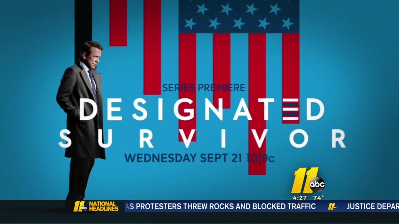 John Clarke previews Designated Survivor