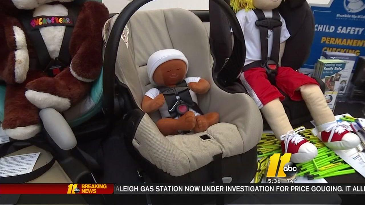 Free car seat checks offered