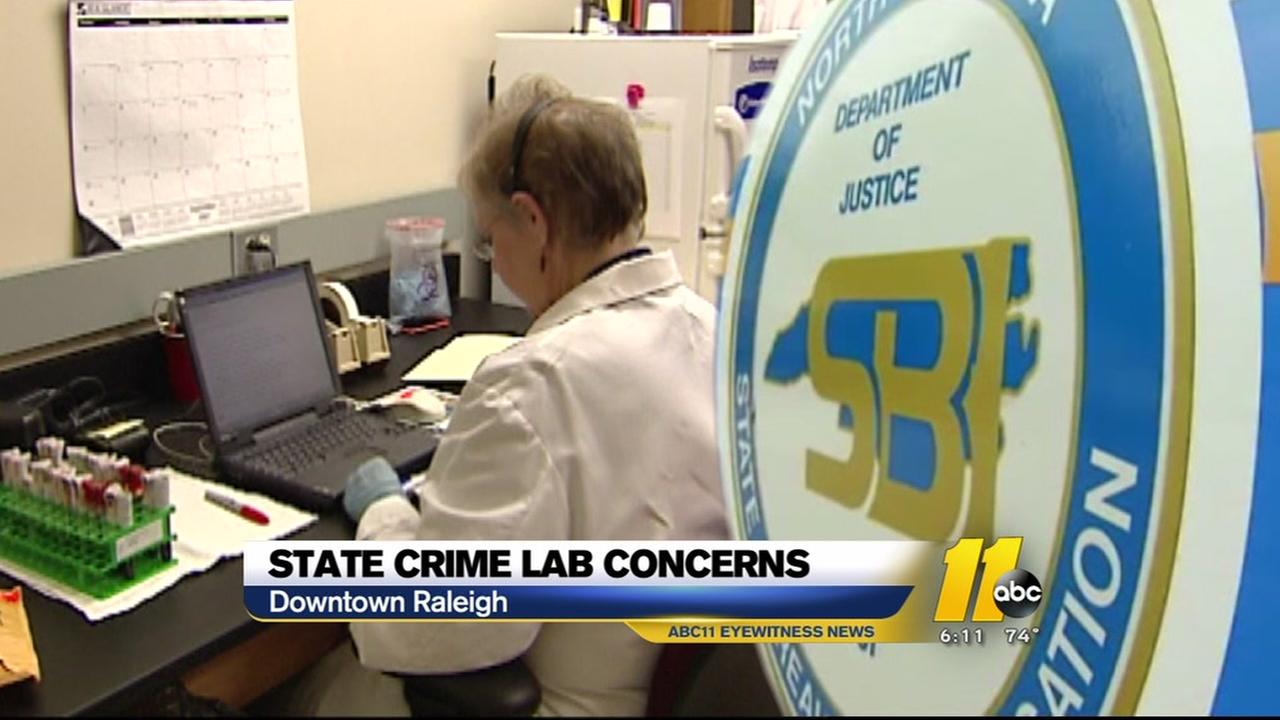 State crime lab concerns