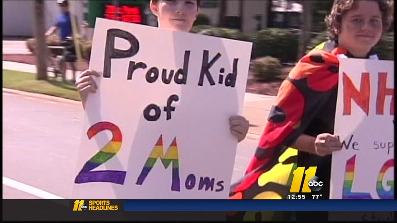 LGBT community celebrates with NC Pride