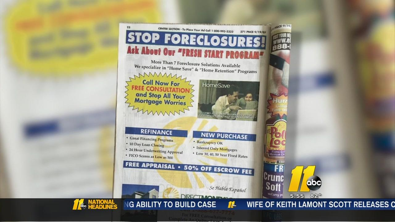 Watch out for foreclosure fraud