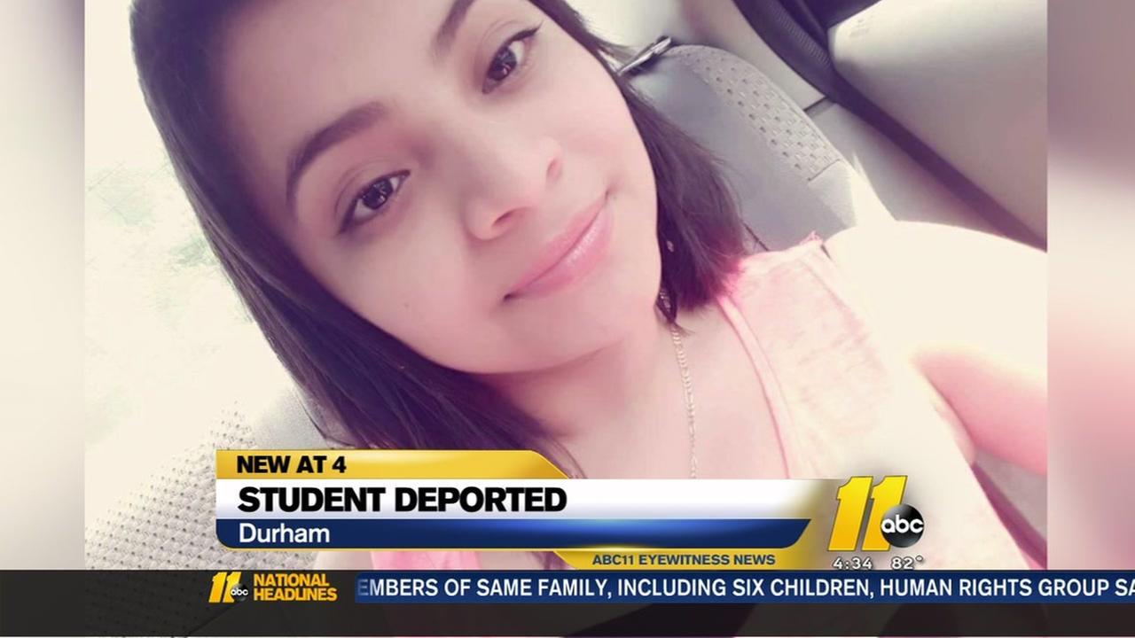 Durham student deported