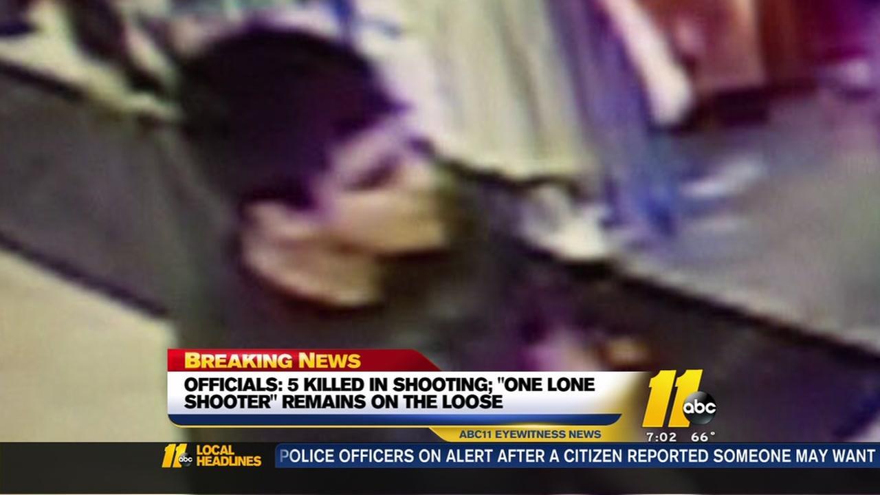 5 killed in Washington shooting