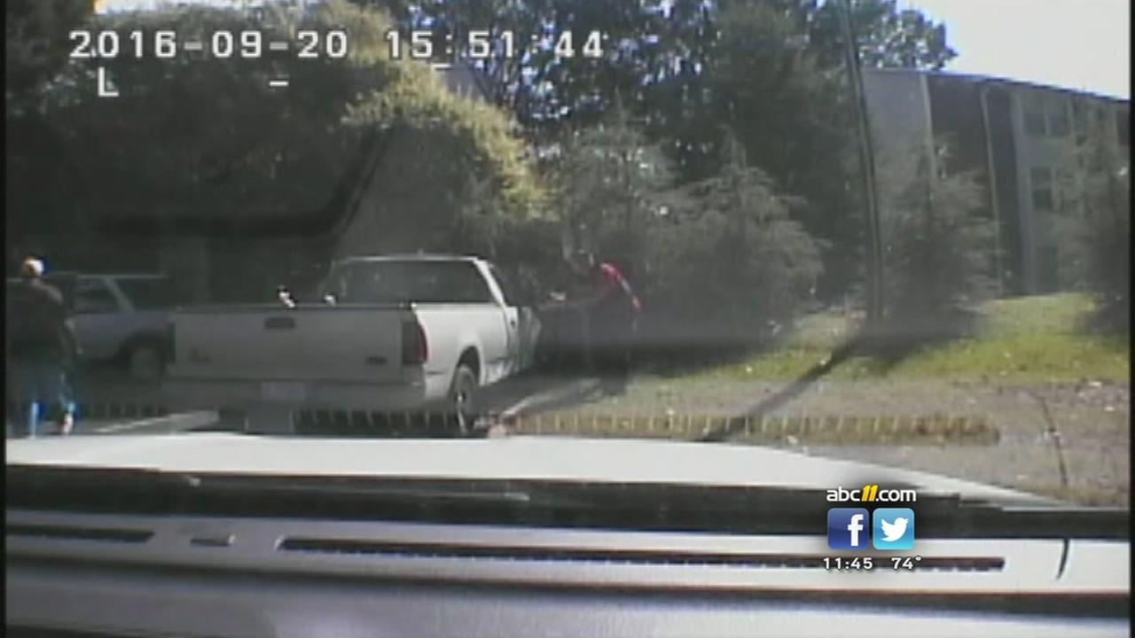 Charlotte police release video of fatal officer-involved shooting
