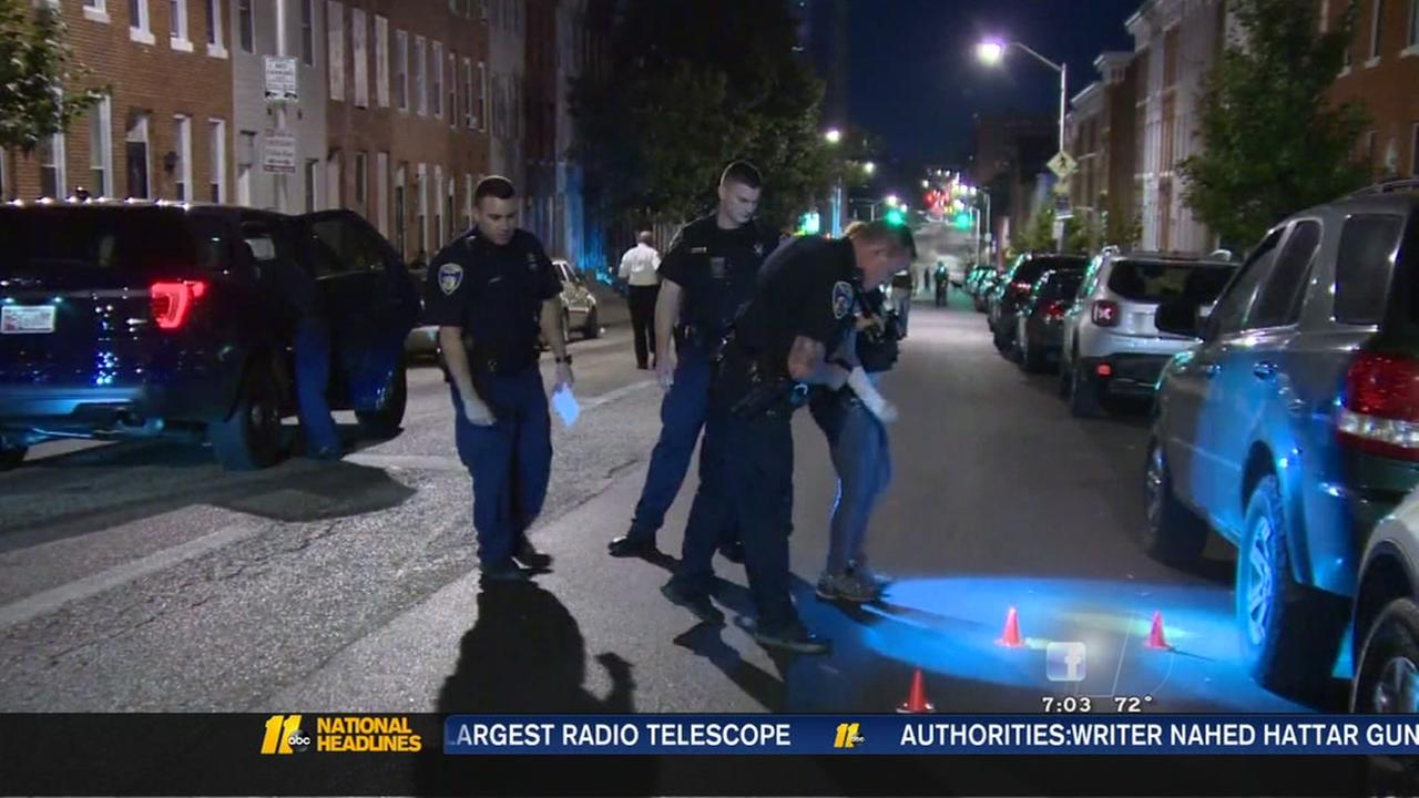 8 hurt in Baltimore shooting