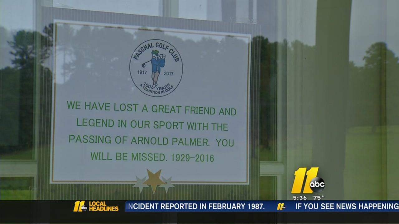 Remembering Arnold Palmer in Wake Forest
