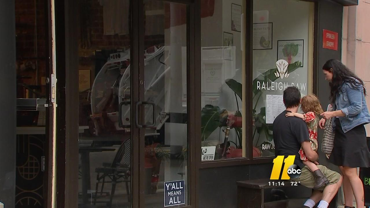 Raleigh Raw Bar broken into during the weekend