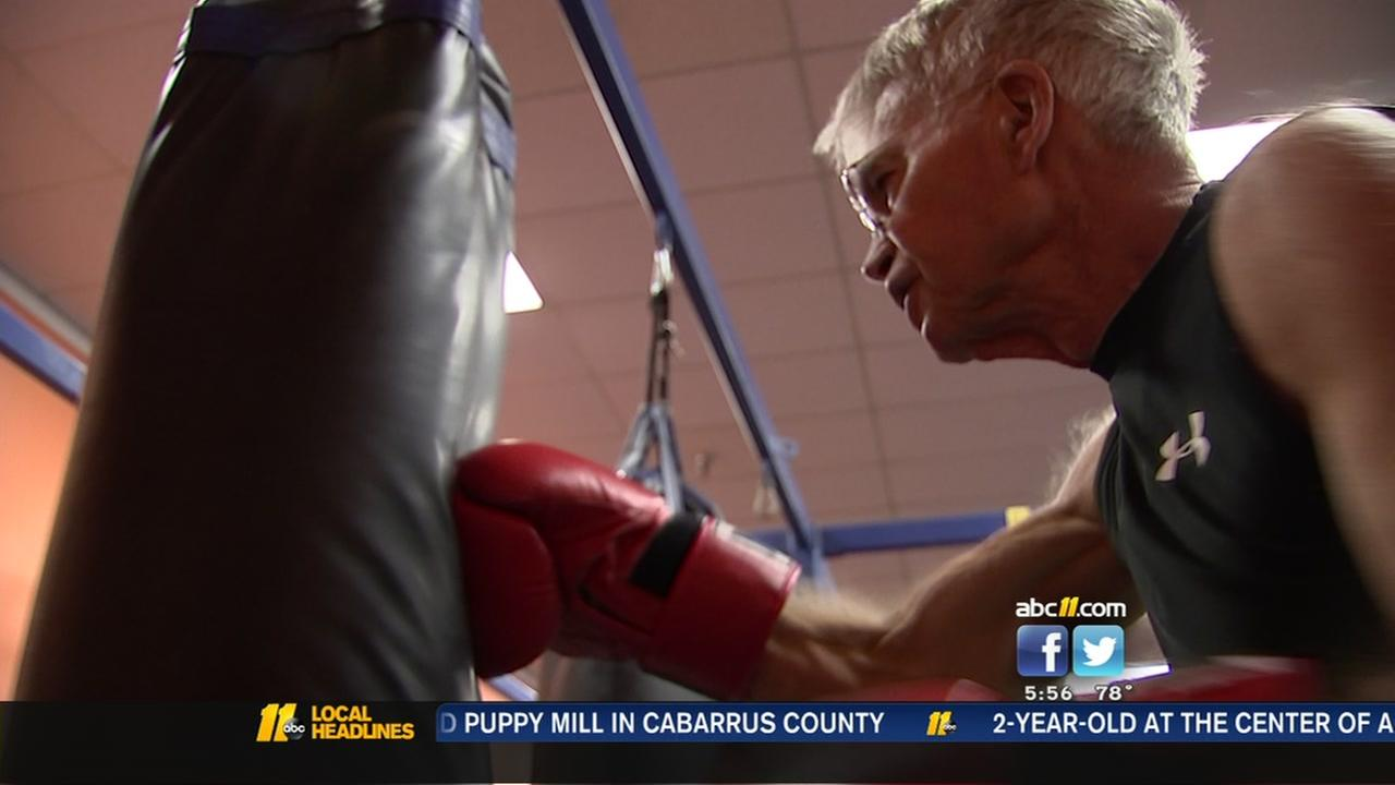 Boxing class helps fight Parkinsons one punch at a time