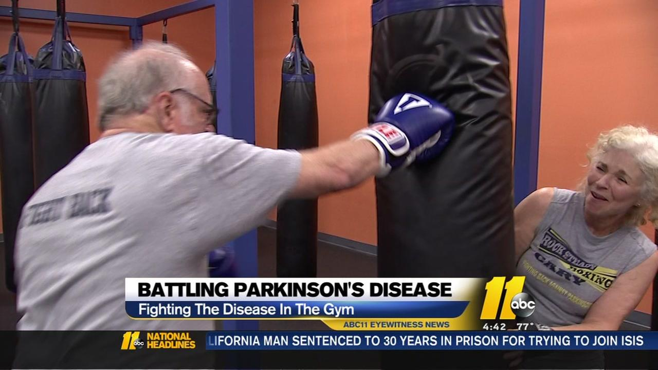 Battling Parkinsons in the gym
