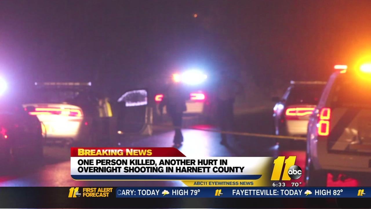 2 shot in Harnett County