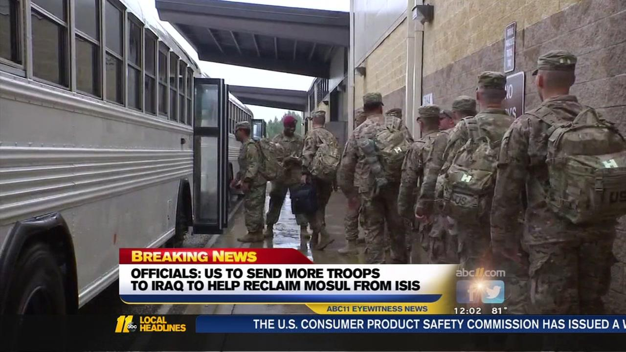 US to send more troops to Iraq