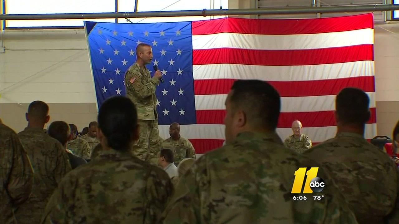 Fort Bragg reacts to announcement of more troops to Iraq