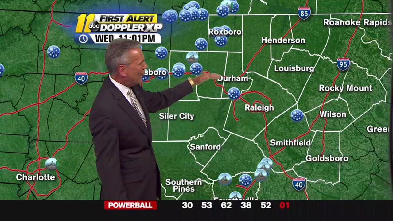 Chris Hohmann with the latest on the storm front.