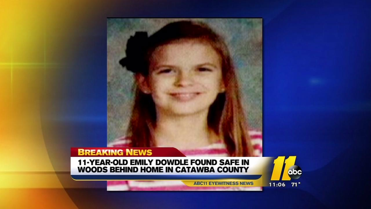 Missing Catawba County girl found safe