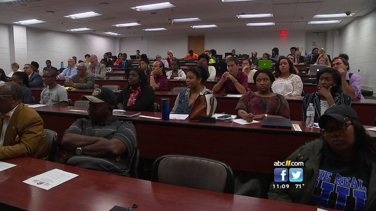 Town hall at NCCU examines police-community relations