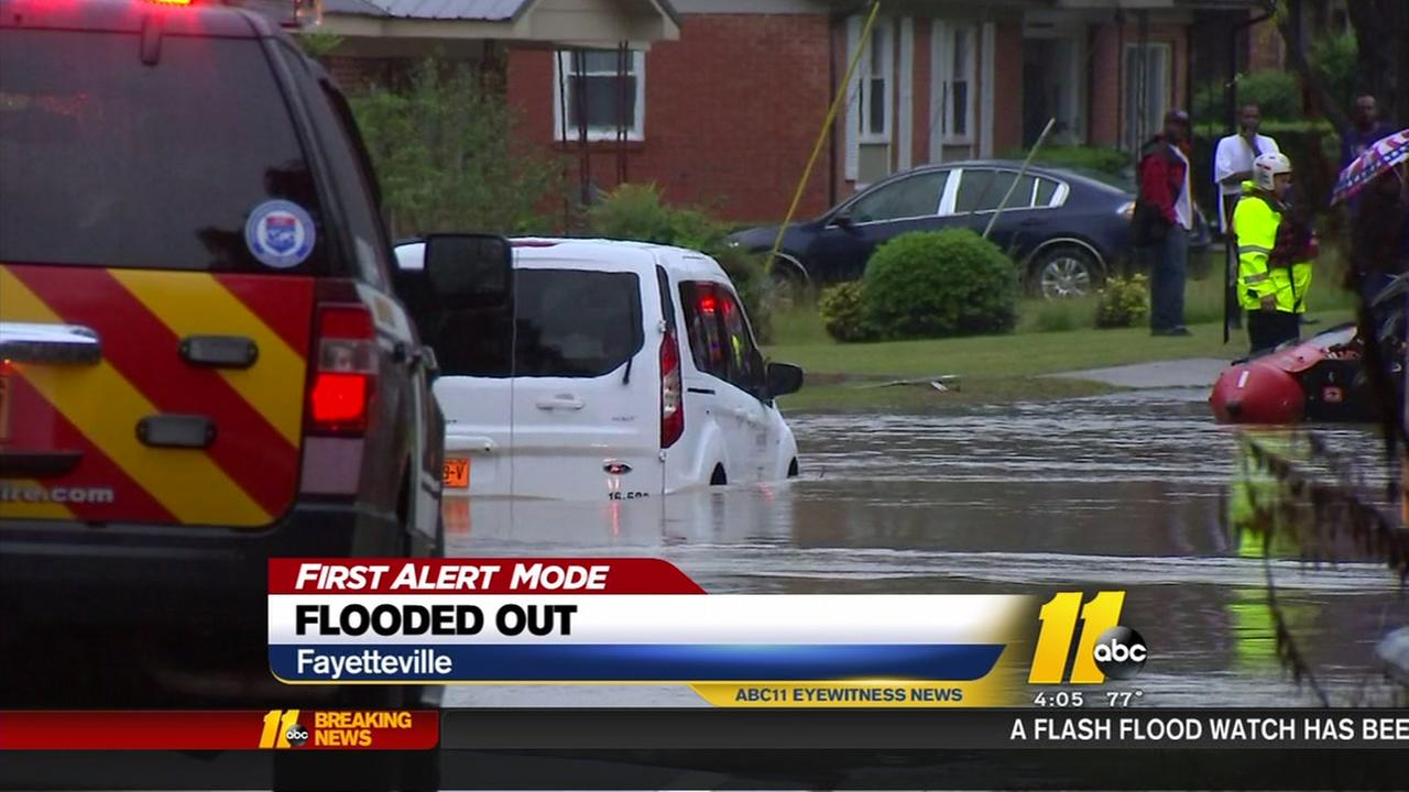 Flooding in Cumberland County