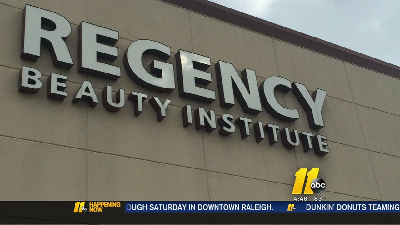 Beauty school shuts down