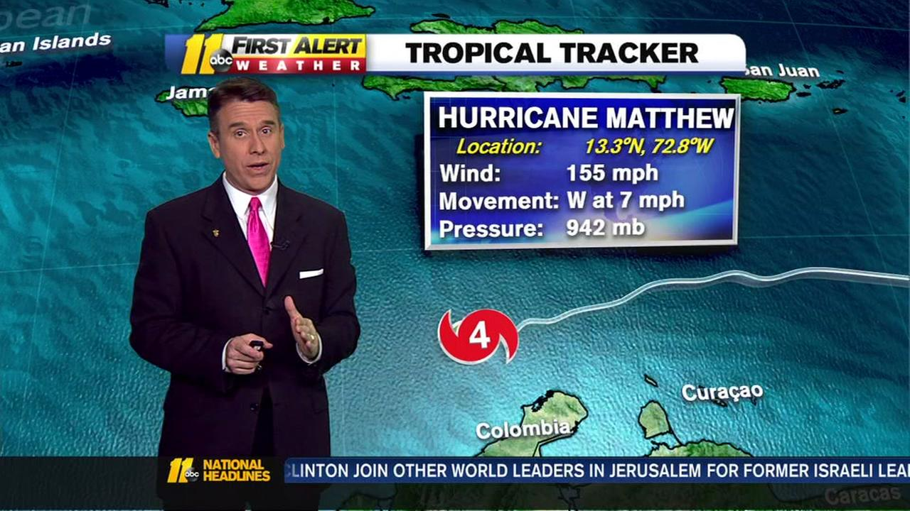Hurricane Matthew a fearsome Category 4