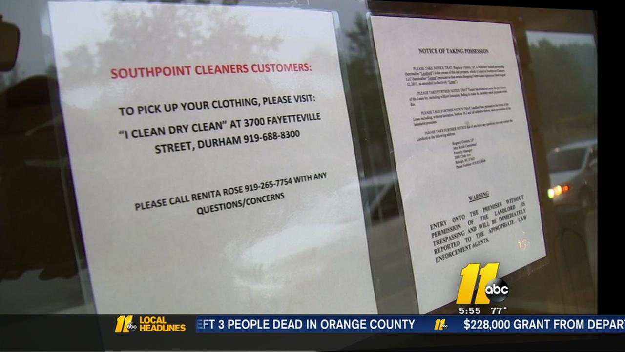 Customers upset after lost, missing items at Durham cleaners