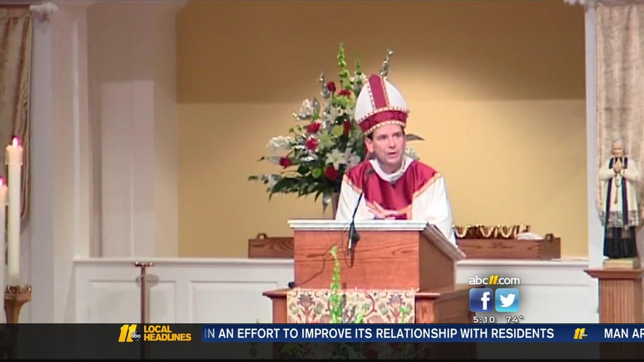 Bishop Burbidge is leaving Raleigh