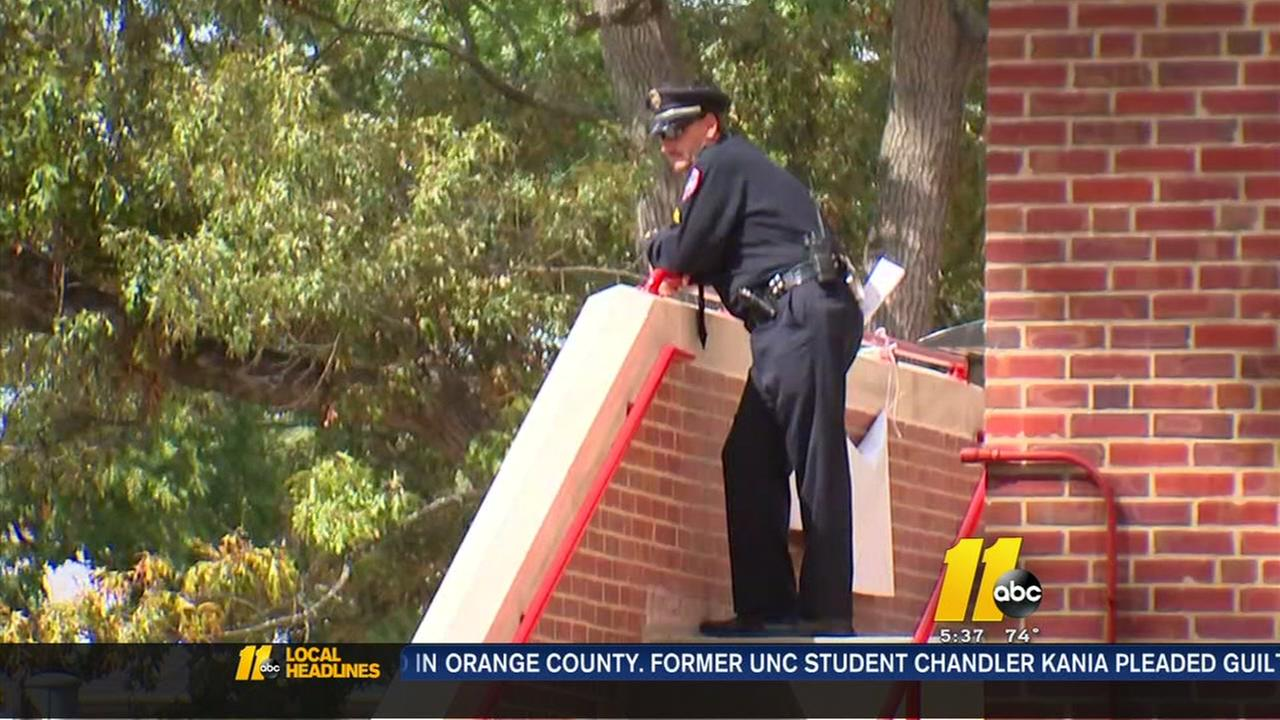 A glimpse at campus security as Michelle Obama visits N.C. State