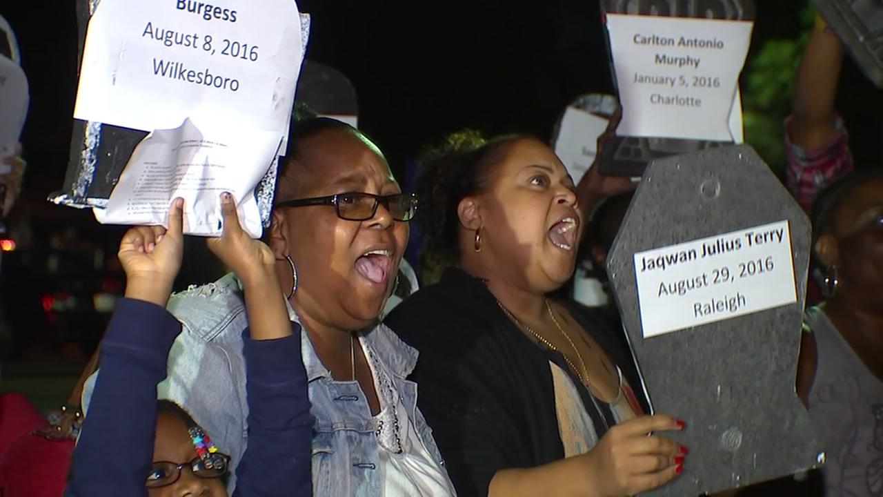 Raleigh residents call for action on police accountability