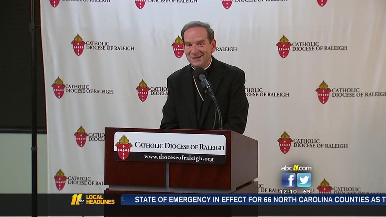 Burbidge not sure why hes appointed to new diocese