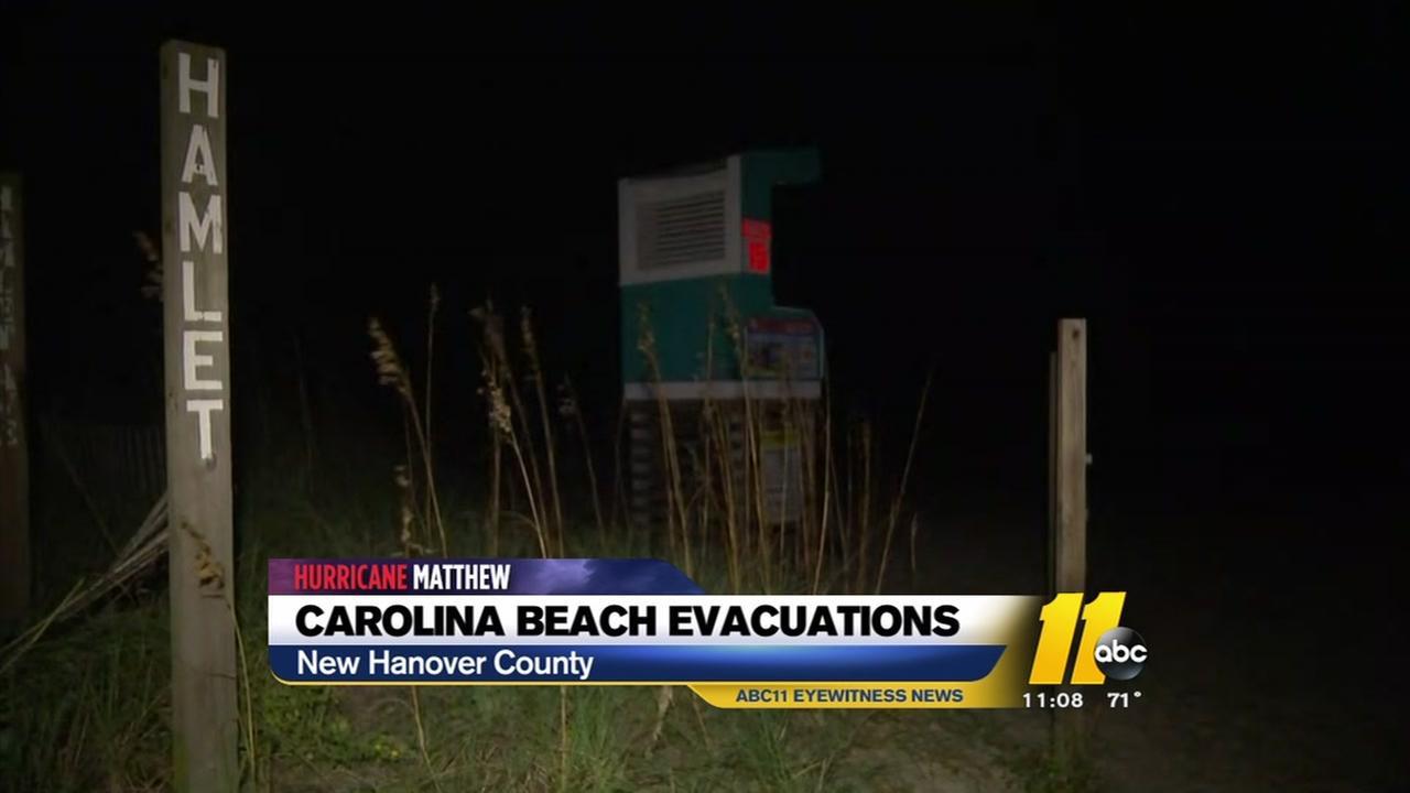 New Hanover County braces for Hurricane Matthew