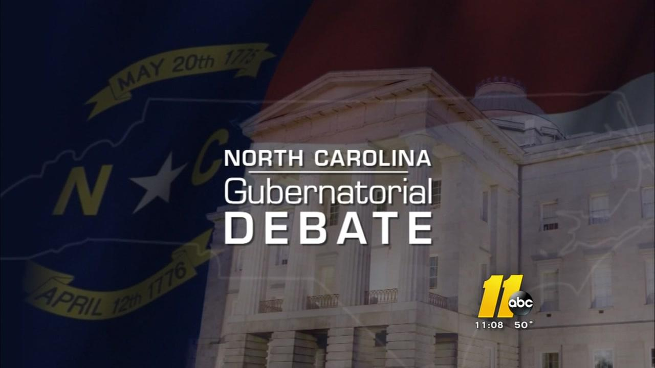 Cooper, McCrory spar in first gubernatorial debate