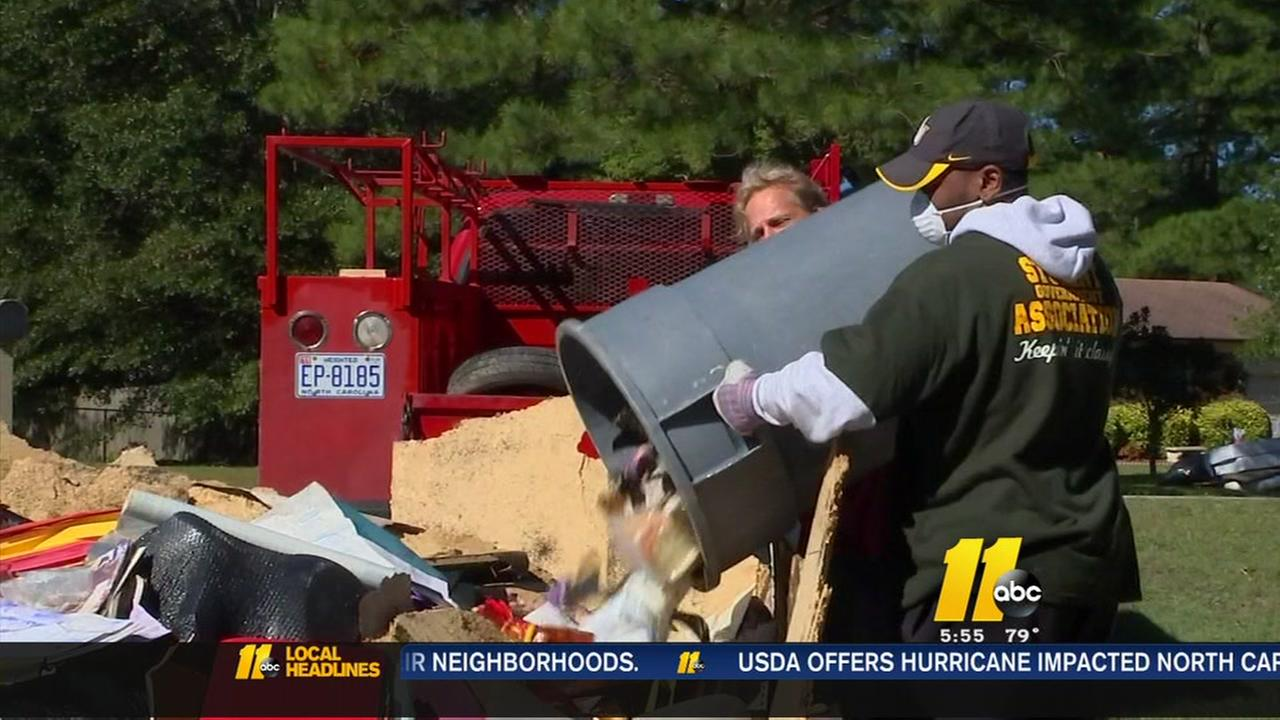Church helps Fayetteville flood victims