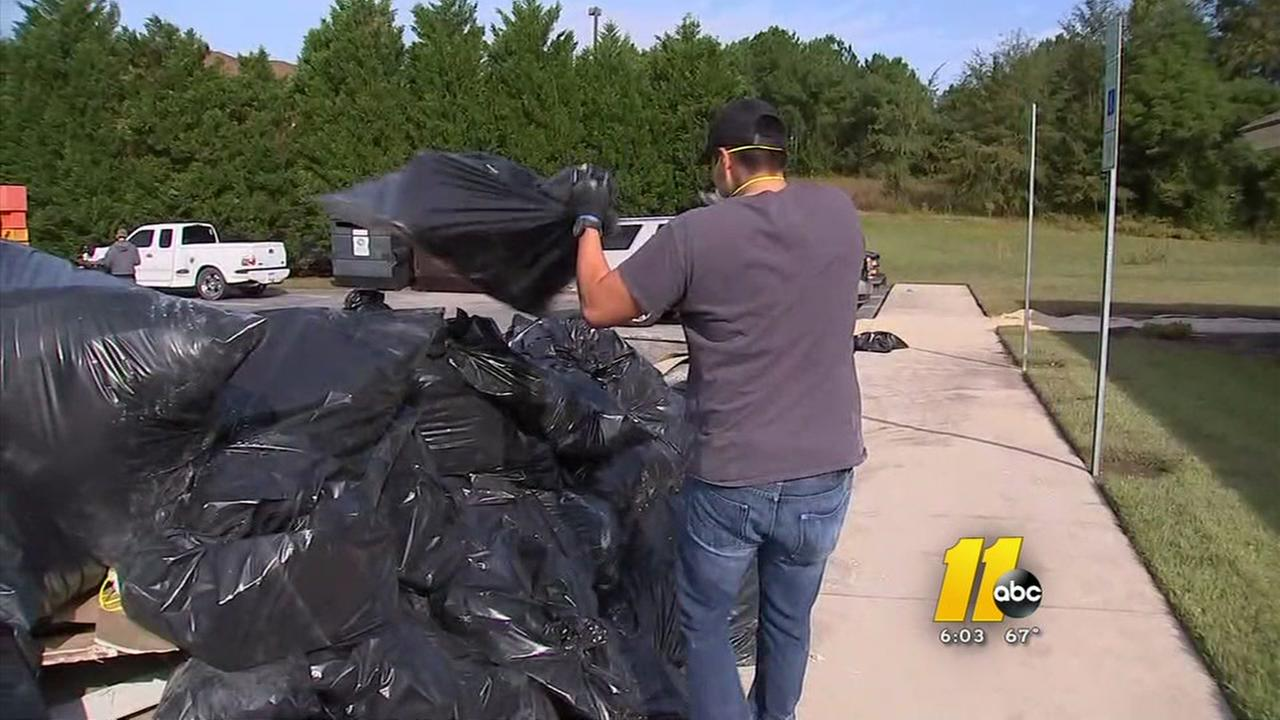 Goldsboro cleaning up after the floods