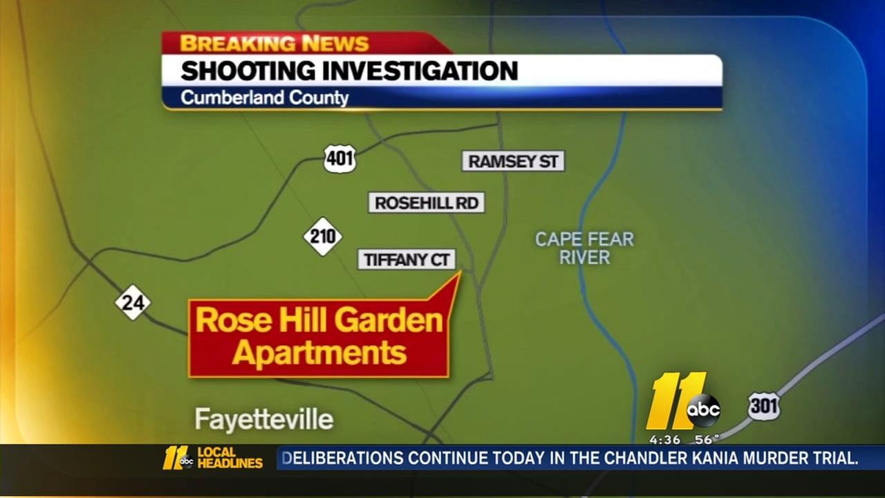 Man shot in Fayetteville