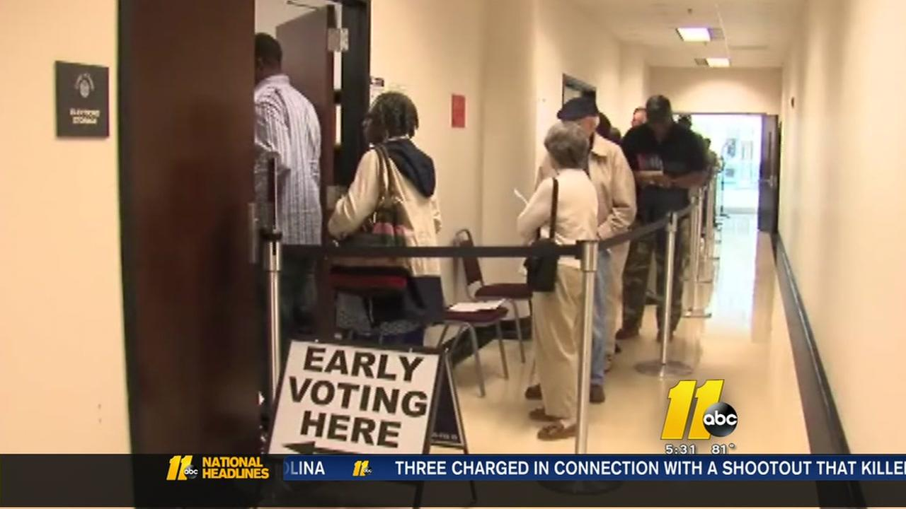 Early voting affected by Hurricane Matthew