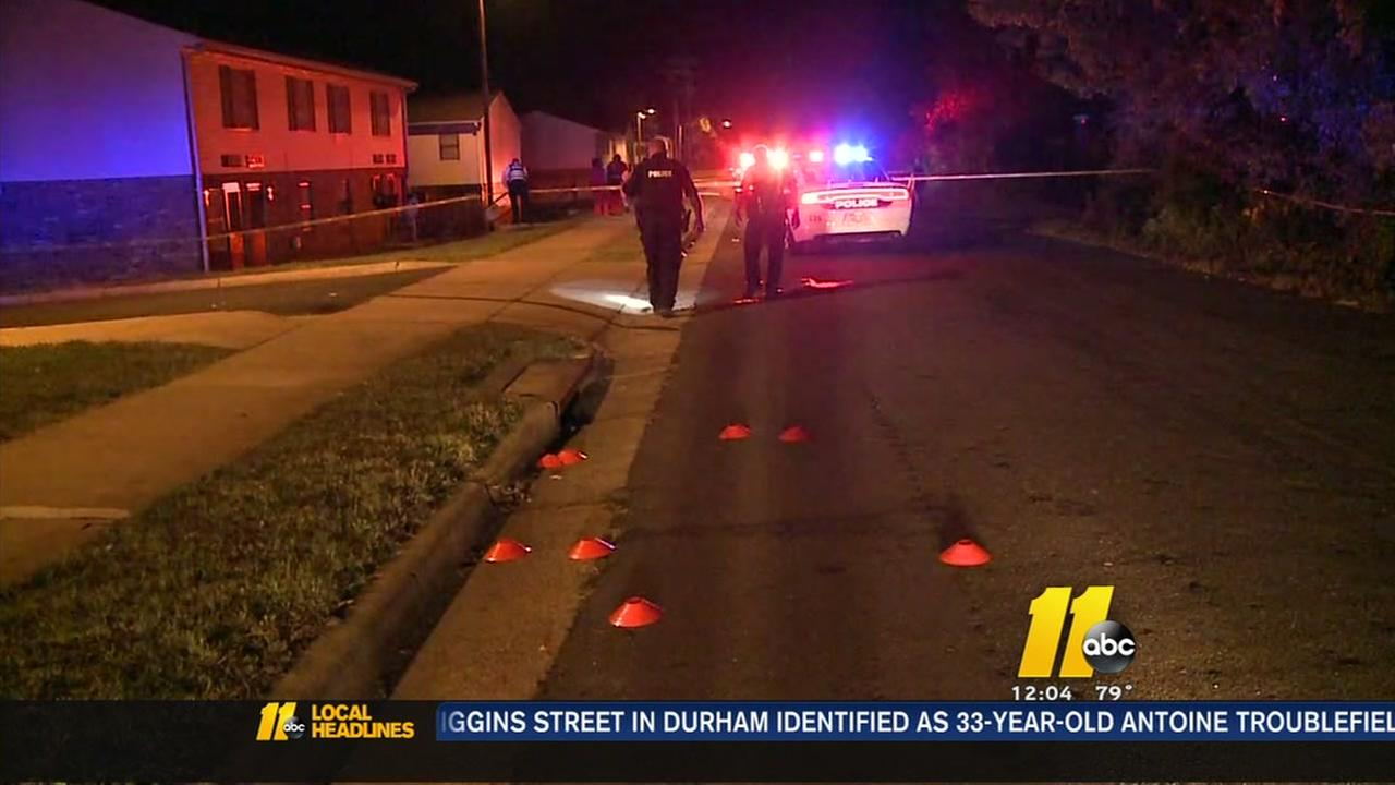 Drive-by shooting in Durham leaves one man dead