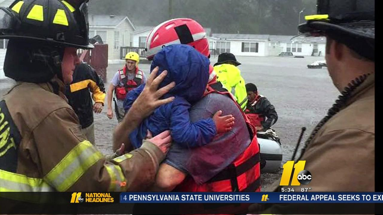 Swift water rescue team are humble heroes