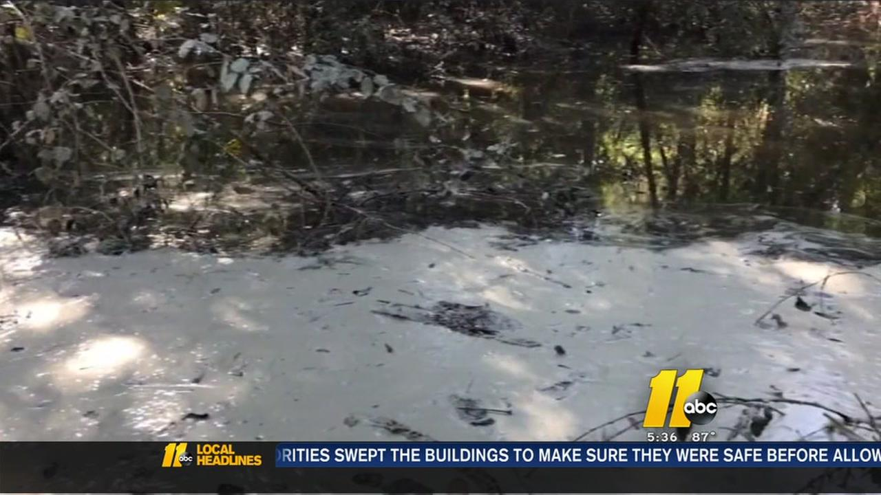 Did coal ash spill in the wake of Hurricane Matthew?