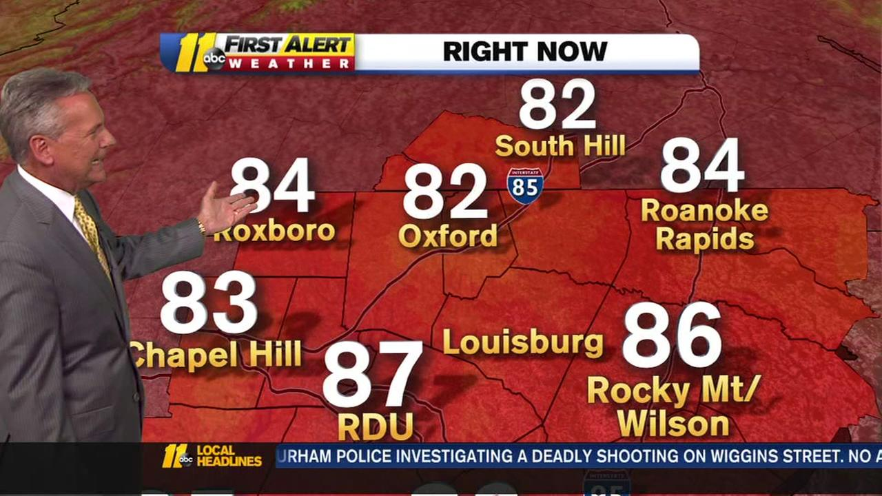Record heat hits the Triangle