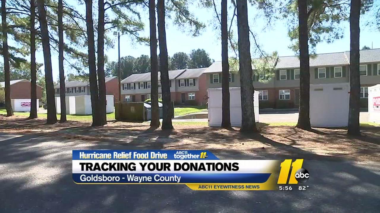 Tracking your donations for hurricane relief
