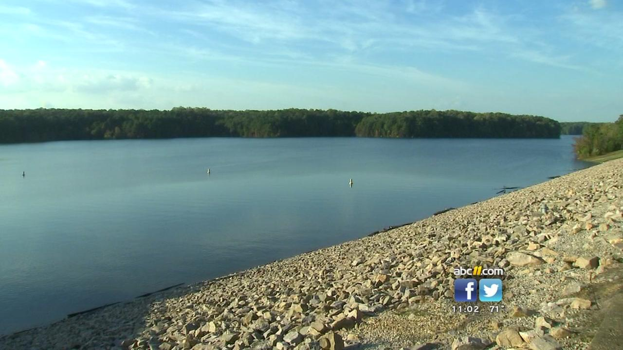 Release of water from Falls Lake dam set