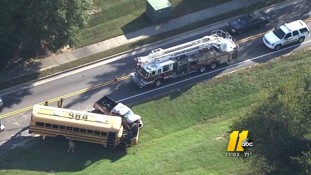 New details in school bus crash