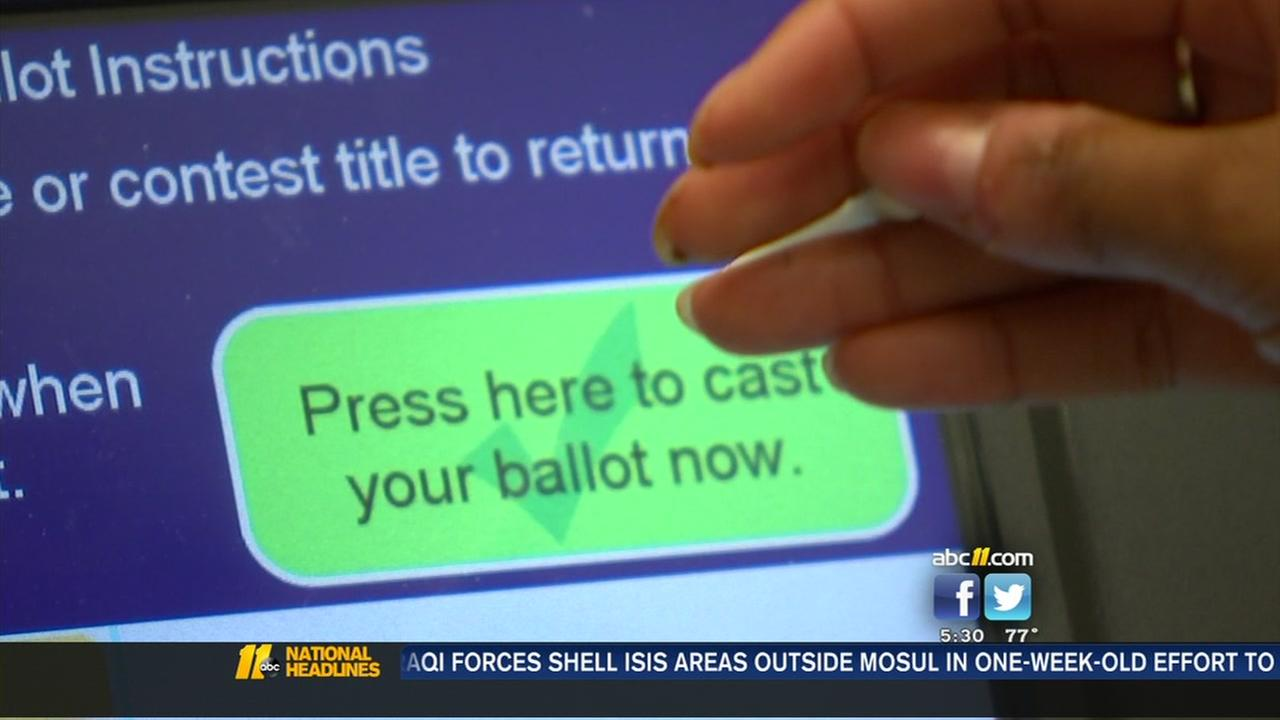 Officials say election machines